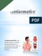 Antiasmatice