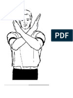 Hand Signals for Printing