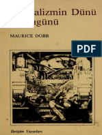 Mauruce Dobb - Kapitalizmin Dünü Ve Bugünü