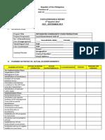 Icfp Progress Report