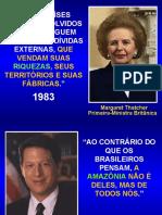Amazônia - Líderes