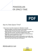 Pemodelan Data Space Time