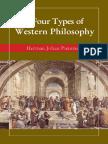 Types of Western Philosophy Pietersen