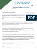 5 Insurtech Startups to Watch (That Aren't Lemonade)