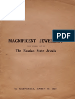 Catalogue of an Important Assemblage of Magnificent Jewellery Mostly Dating From the 18th Century (1927)