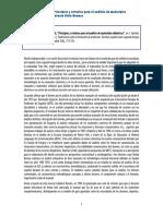 """Reseña- """"Principios y Criterios Para El Análisis de Materiales Didácticos"""