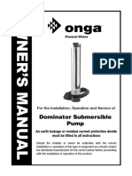 Dominator Range Owners Manual