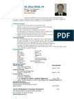 Updated CV in Technical Instructor 2007(13)