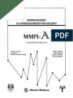 Mmpi a Cuadernillo PDF