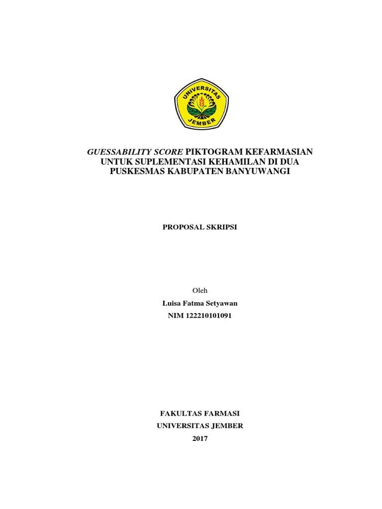 Proposal Skripsi Revisi 1