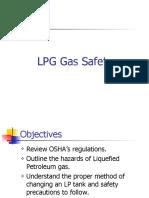 Lpg Gas Safety