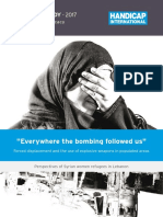 Handicap International - Everywhere the bombing followed us