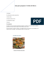 Recetas de Cocina Para Preparar Ceviche de Sierra