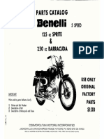 Benelli 125-250 PartsCatalog