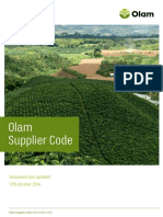 Olam Supplier Code