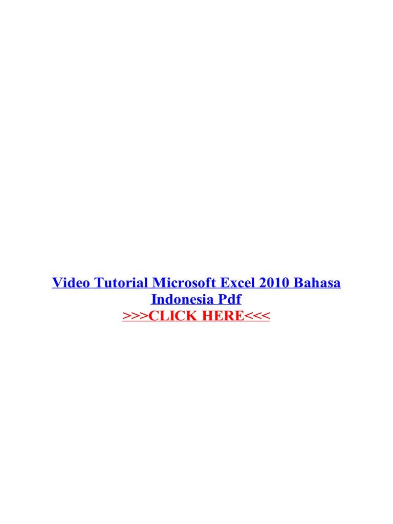 Indonesia effect bahasa after cs3 adobe pdf tutorial