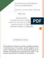 posiciones clinicas