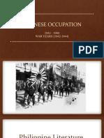 Japanese Occupation