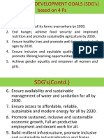 Sustainable Development Goals (Sdg's) Based On