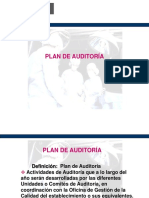 Informe de Plan de Auditoria