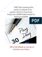 $1000 Payday Study Guide