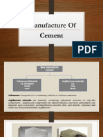 Manufacturing&Testing of Cement