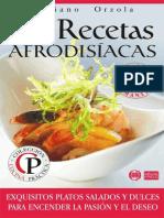 84 Recetas Afrodisiacas_ Exquis - Mariano Orzola