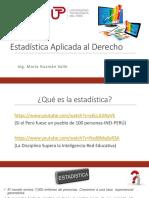 Estadística Aplicada Al Derecho - Sesión 02 - Conceptos Básicos - Variables