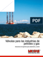 Brochure - Valves for Oil & Gas Industries (ES).