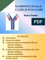 Proteina Monoclonala Semnificatie Si Evaluare