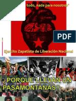 Presentacion EZLN (Int. Ciencia Politica)