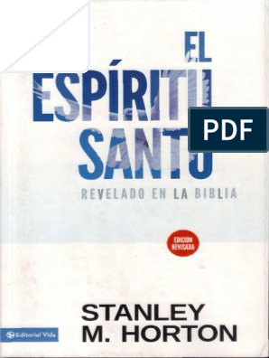 El Espiritu Santo Revelado En La Biblia Pdf Espiritu Santo Moises