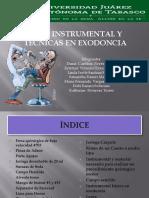 Instrumental para Exodoncia