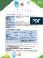 Guía de Actividades y Rúbrica de Evaluación - Fase 1 - Realizar El Reconocimiento de La Microbiología de Suelos