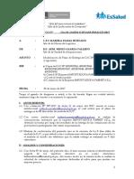 Informe Modificacion de Plazo de Entrega