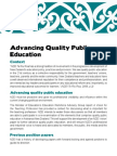 Advancing Quality Public Education Special Report