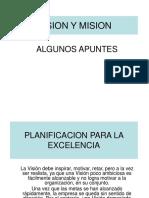 3a. Formulacion Vision Mision