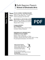 Theatre Classes for Adults at Pacific Repertory Theatre