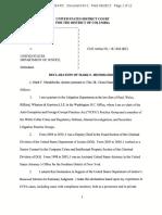 Mendelsohn Declaration in Siemens Monitor Litigation