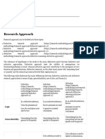 Research Approach - Research-Methodology