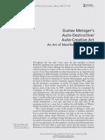 Auto Destructive Art Text Routledge
