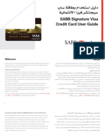 SABB Signature Visa CC User Guide - Jan. 23