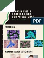 Rinosinusitis Cronica y Sus Complicaciones