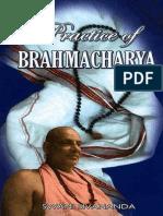 Sri Swami Sivananda-Practice of Brahmacharya-The DIVINE LIFE SOCIETY (1997)