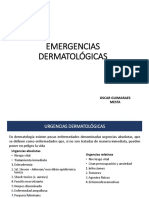 Emergencias Dermatológicas