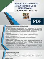 Costos y Presupuestos Clase 9