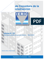 Informe de coyuntura de la construcción mayo de 2016