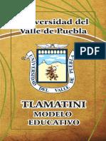 ) Modelo Educativo TLAMATINI