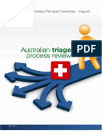 Australian Triage Process Review