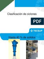 Clasificación de Ciclones